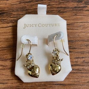 Juicy Couture Dangle Earrings